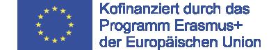 """Kofinanziert durch das Programm """"Erasmus+"""" der Europäische Union"""